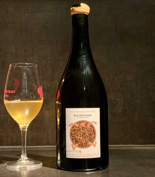 Jousset Maceration Menu Pineau Orange Wine Natural Wine