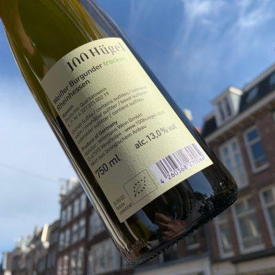 Weingut Wittmann 100 Hugel Weisser Burgunder