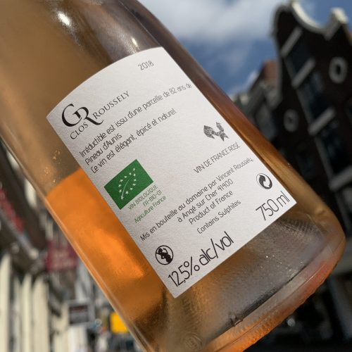 Clos Roussely Irreductible Rose Bio