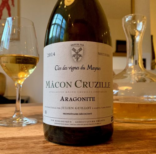 Macon-Cruzille Aragonite 2014