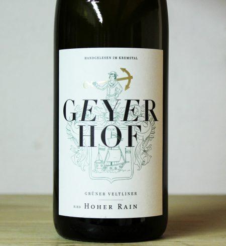 Geyerhof 'Hoher Rain' Grüner Veltliner 2019