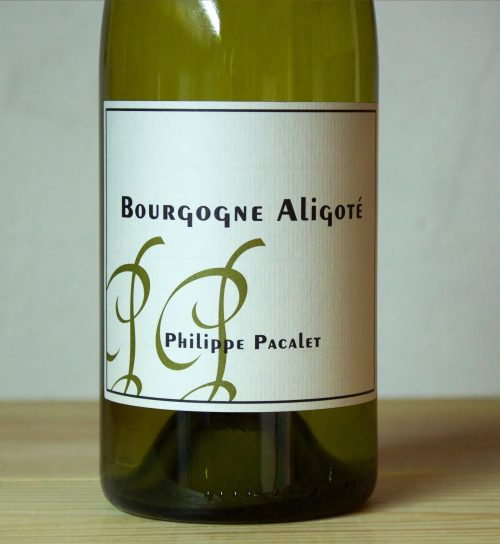 Philippe Pacalet Bourgogne Aligoté 2017