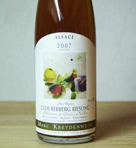 Domaine Kreydenweiss 'clos rebberg' SGN Riesling 2007
