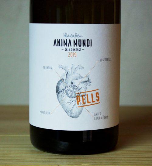 Anima Mundi Pells Macabeo Orange Wine 2019