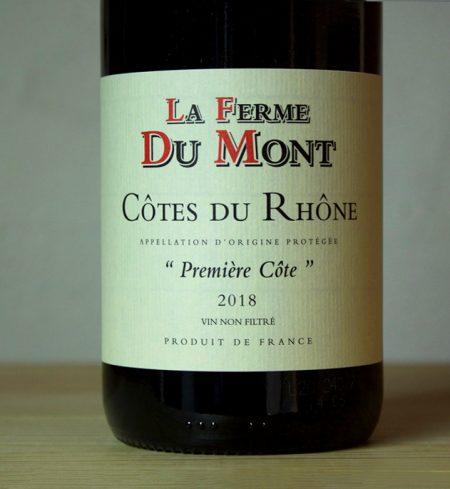 La Ferme du Mont - Côtes du Rhône Première Côte
